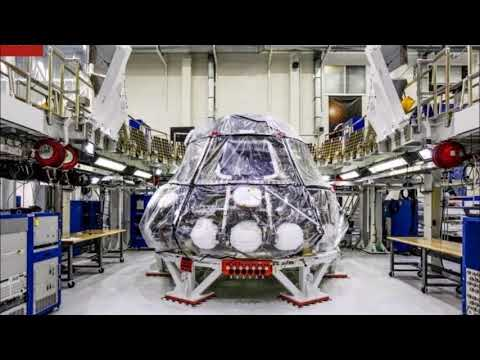 Nasa powers up Orion spacecraft that will carry man to the moon, Mars and beyond for the first time
