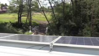 видео Автономная солнечная электростанция для дома в Мельниково