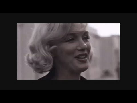 Marilyn Monroe RARE  Colour Footage And Interview - Nikita khrushchev visit to hollywood Sept 1959