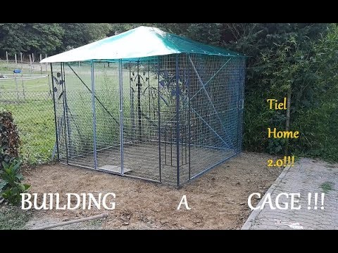 How To Build An Aviary From A Gazebo !