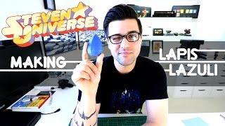 Steven Universe DIY Making Lapis Lazuli Gem