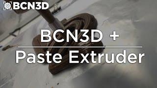 BCN3D+ - Paste Extruder Printing Chocolate