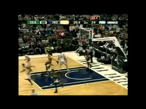 Šarūnas Jasikevičius 22 points vs Seattle SuperSonics Full Highligts(2006.01.02)