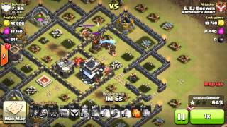 Clash Of Clans | Th10 Stoned GoHo Vs Th9