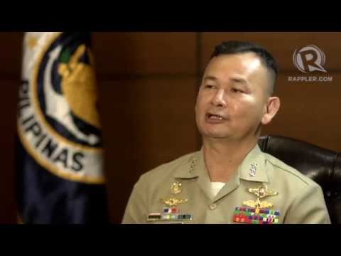 Q&A with Philippine Navy chief Vice Admiral Jose Luis Alano