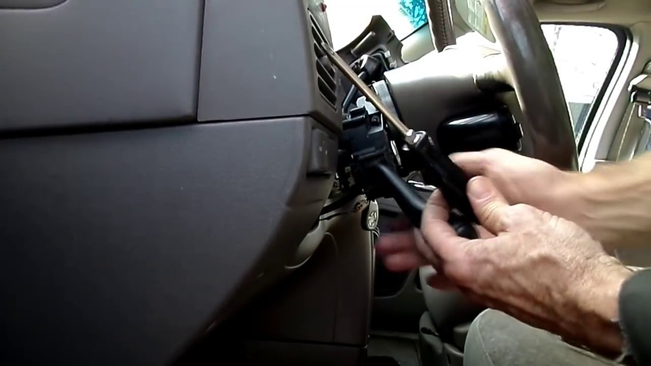 nissan quest mercury villager multifunction switch removal [ 1280 x 720 Pixel ]