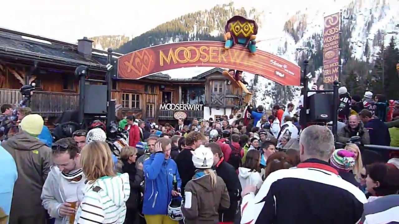 Mooserwirt Après Ski Sankt Anton Austria 2012 Youtube