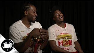 Kawhi Leonard, Kyle Lowry talk Raptors' rollercoaster season | The Jump