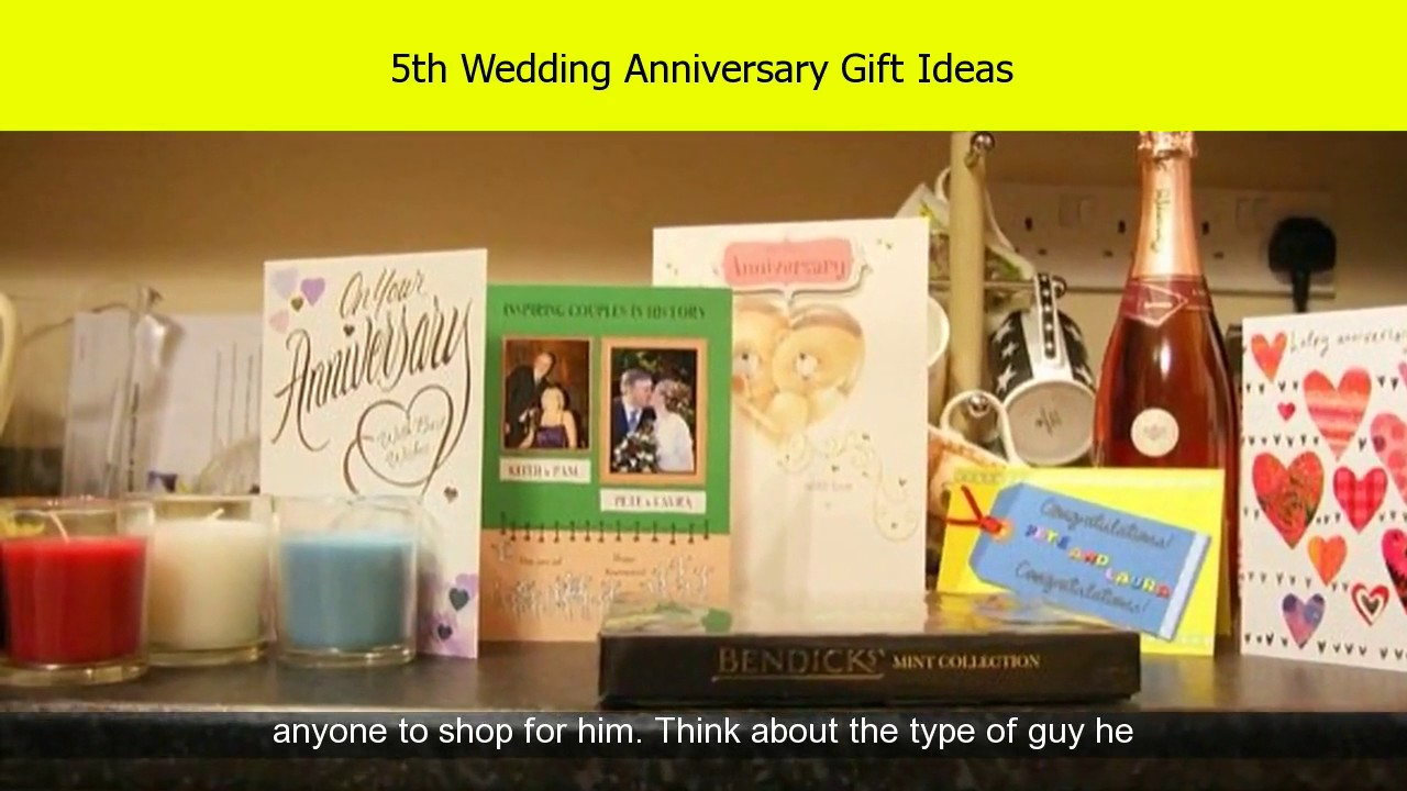 5th Wedding Anniversary Gift Ideas For Him: 5th Wedding Anniversary Wood Gift Ideas For Him