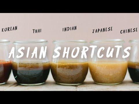 SHORTCUTS to 5 ASIAN CUISINES | HONEYSUCKLE