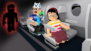ROBLOX: OLD MAN AND AUNT GRACE WERE ON A SCARY PLANE TRIP! (Vacation Story)