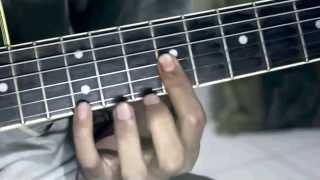 tutorial doraemon theme song on guitar original version part 1