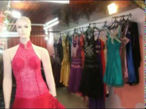7140f110a معرض سهر الليالي لتأجير بدل الزفاف وفساتين السهرة - YouTube