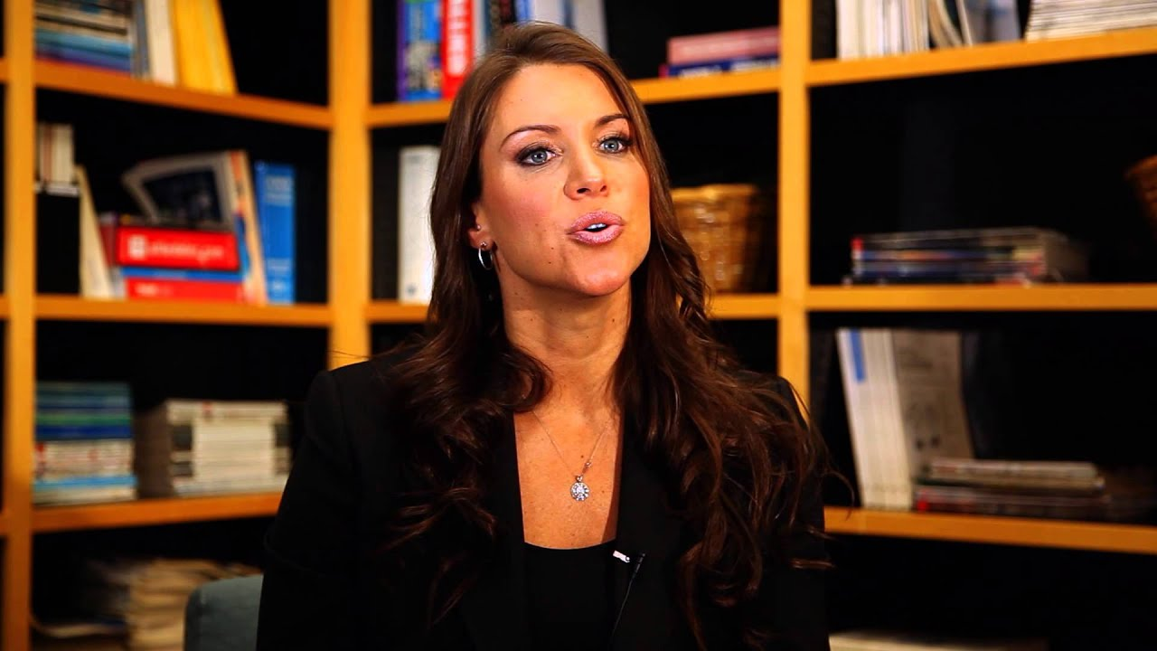 Stephanie Mcmahon Talks About Teaching A Master Class At -9123