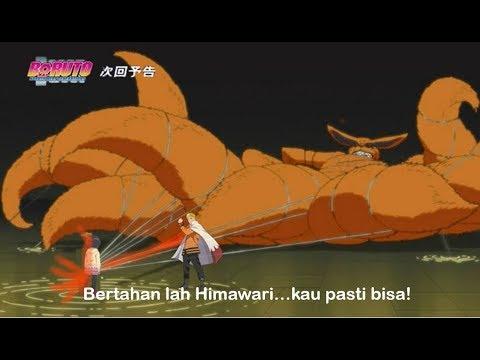 Naruto Melatih Himawari Mengendalikan Kurama...Himawari Terkena Kebencian Yang Ada Di Tubuh Kurama