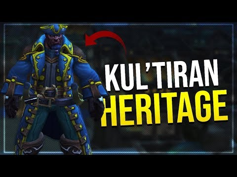 Kul'tiran Human Heritage Armor Set? | Long Coats Finaly Coming To World of Warcraft?|In-game Preview