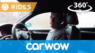 Audi Q3 SUV 2017 360 degree test drive  | Passenger Rides