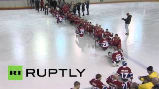 Russia: Team Russia In Paralympic Boost With Sledge Hockey Win