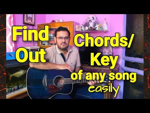 How To Find Guitar Chords & Key Of Any Song | No Theory Needed | Beginners Lesson In Hindi