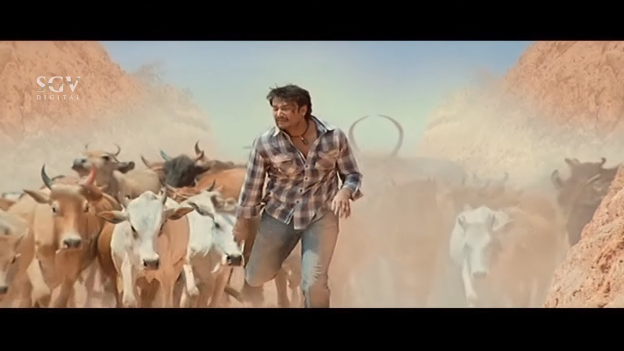 Download Uncle Plan to Kill Darshan But Horse Save Him | Sharath Lohithashwa | Saarathi Kannada Movie Scenes
