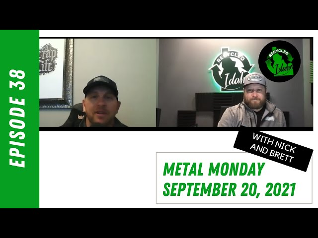 Metal Monday #38 with Nick and Brett 9-20-21