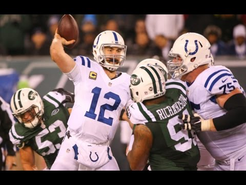 Every Andrew Luck Throw Week 13 || Colts at Jets 2016