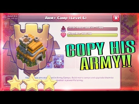 Town Hall 7 IN TITAN!!! Copy His Army To Reach HIGH 😉😉