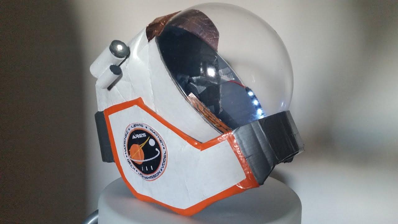 DIY Scratch Built Mark Watney The Martian space helmet (an ...