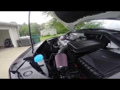 2016 Tiguan 2.0TFSI intake and exhaust