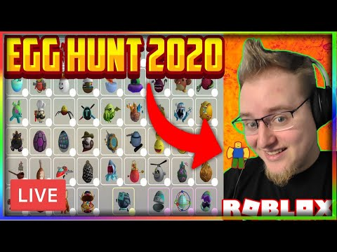 DEV EGGS W/ COVEN Finding ALL Eggs In ROBLOX Egg Hunt 2020! W/ Trelka And Possibly Devs/Influencers!