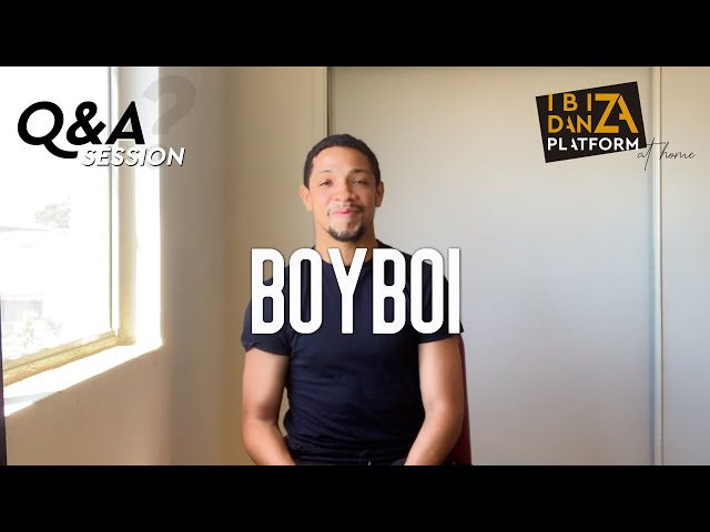 BOYBOI // Q&A SESSION