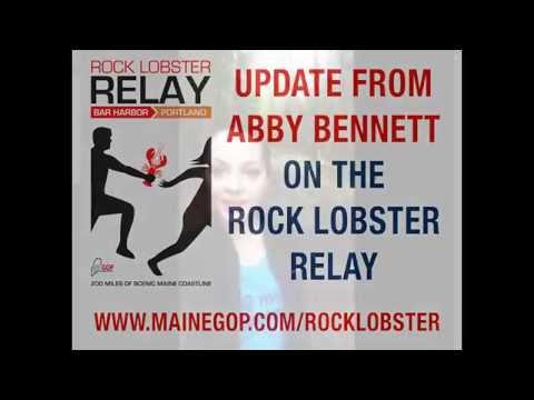 Maine GOP Rock Lobster Relay Update