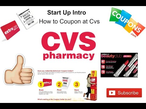 HOW TO COUPON FOR BEGINNERS | CVS