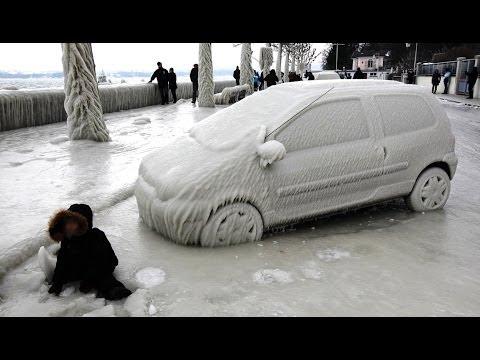 Freezing Weather - Polar Cold Vortex on United States : News Video