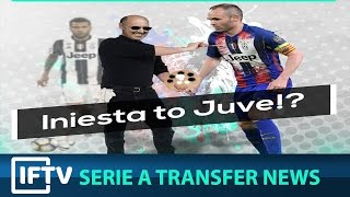Video COULD ANDRES INIESTA BE JOINING JUVENTUS?! Serie A Transfer news 5/23/2017 download MP3, 3GP, MP4, WEBM, AVI, FLV Oktober 2017