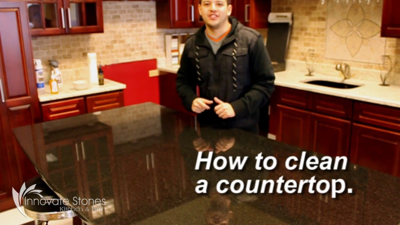 Innovate Stones Inc Linden NJ. How To Clean Your Granite Countertops
