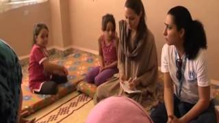 Angelina Jolie Visits Syrian Refugees In Lebanon