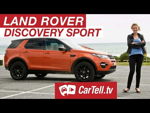 Land Rover Discovery Sport 2016 - Review