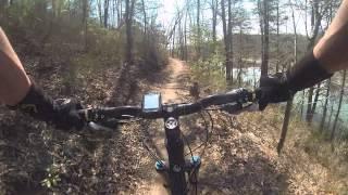 Mountain Biking: Brush Creek, Ocoee, Tennessee