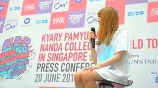 Kyary Pamyu Pamyu KPP Nanda Collection World Tour 2014 in Singapore - Press Conference 01