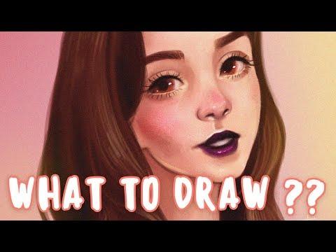 ♥ Что нарисовать? ♥ Идеи для рисования ♥