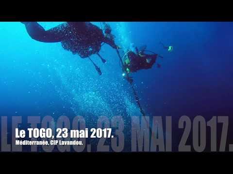 Alain et Ghislaine plongent sur le Togo, 24 mai 2017