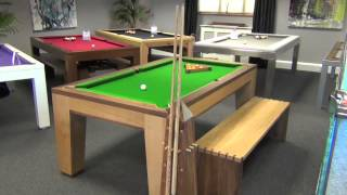 This video is not available. Spartan Pool Dining Table