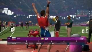 London 2012 Shot Put 24.39 new World Record