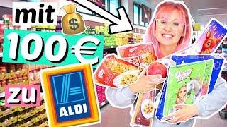 Was bekommt man für 100€ bei ALDI? 😳 Test | ViktoriaSarina