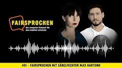 congstar Podcast #01 - FAIRsprochen mit Säbelfechter Max Hartung