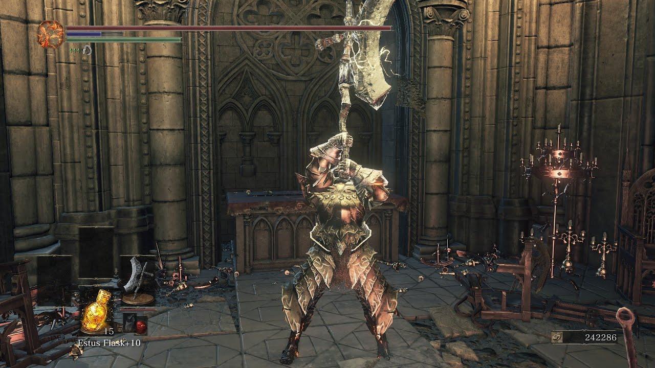 Dark Souls  Greataxe Build