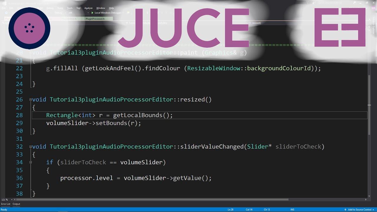 VST programming & Hosts | JUCE | #003