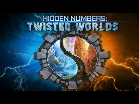 Hidden Numbers: Twisted Worlds free-to-play hidden object adventure game for mobile!