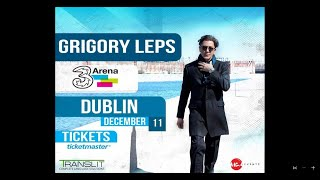 Розыгрыш 2 билетов на концерт Григория Лепса в Ирландии 2016